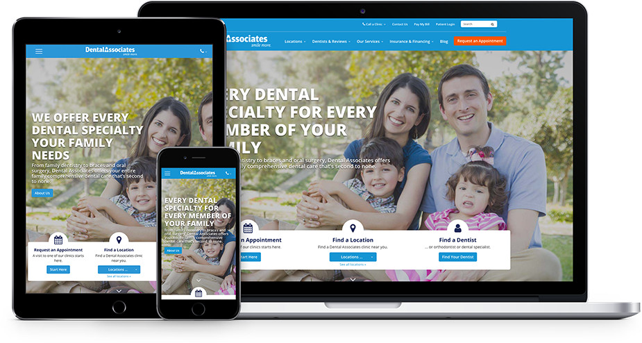dentist office responsive websites and marketing