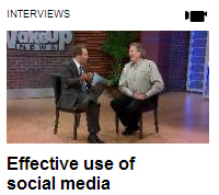 Tom Snyder on Fox6 WakeUp to discuss Social Media