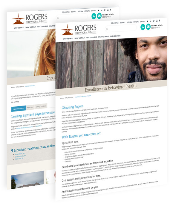 Rogers mental health marketing and strategy